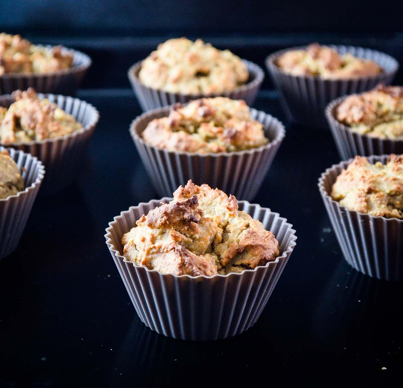 Saftige Muffins ohne Mehl