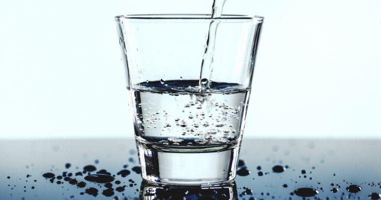 Nur ein Glas Wasser – Danke!