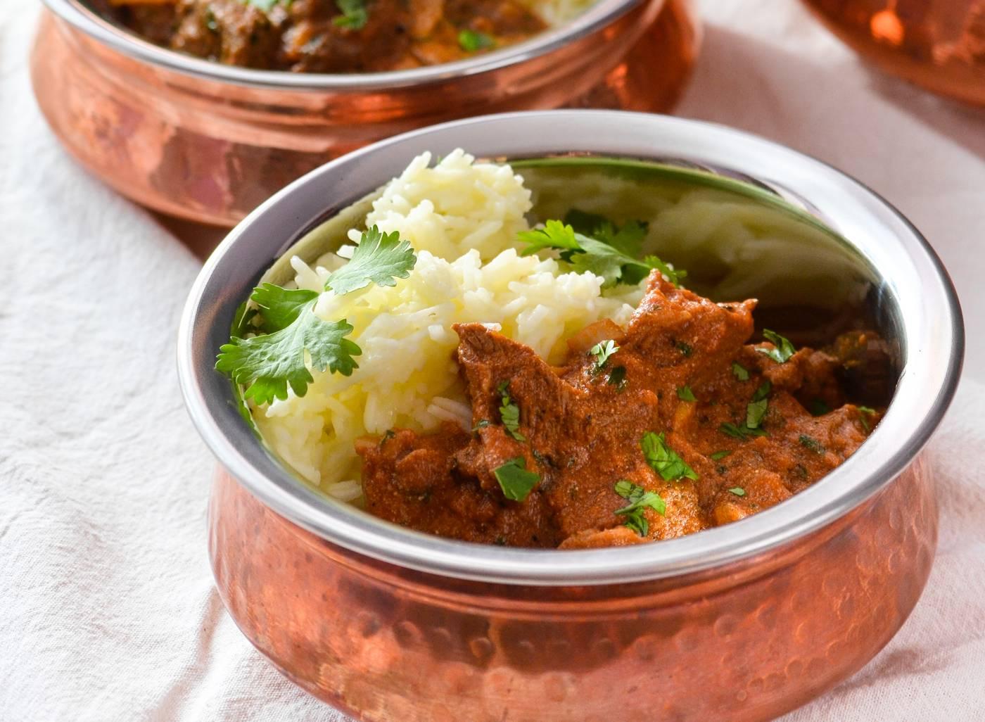 Rogan Josh – indisches Lamm-Curry