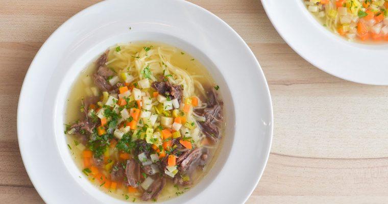 Rindfleisch-Suppe